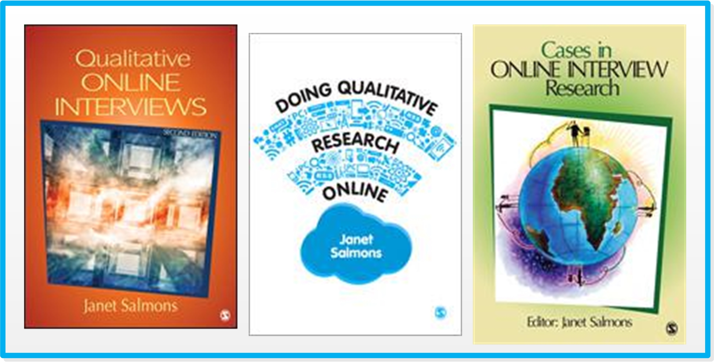 Salmons' books on online interviews.