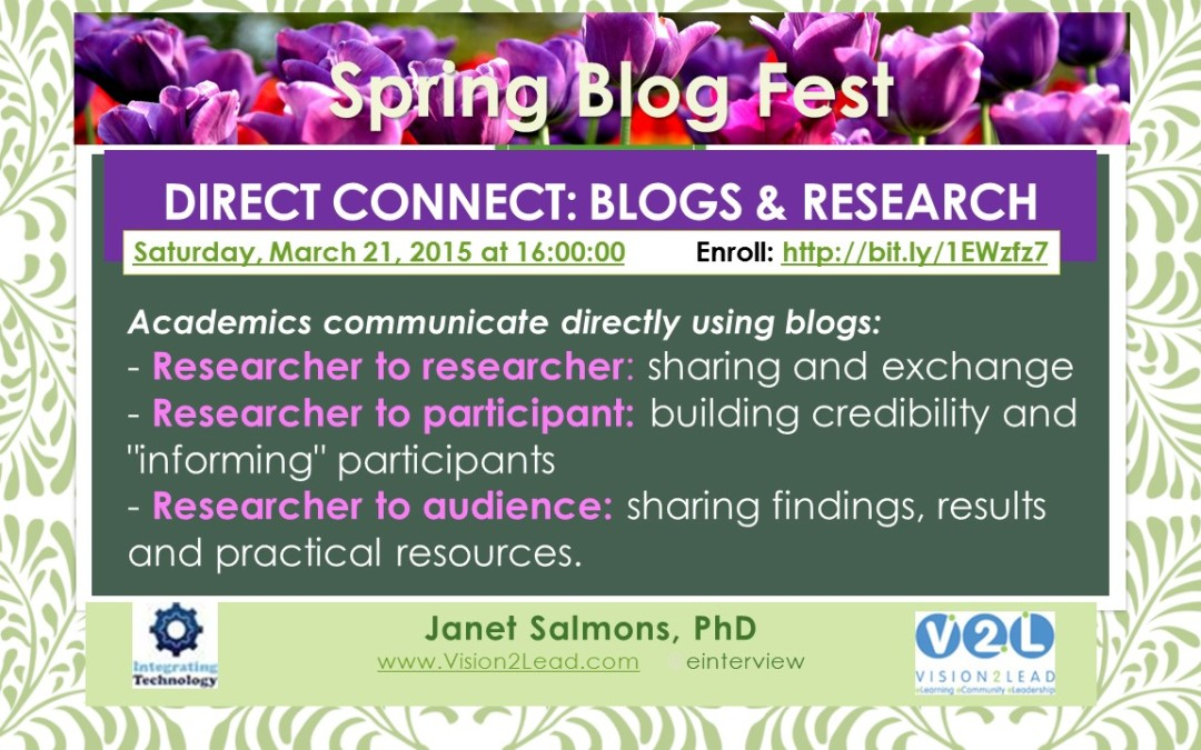 Direct Connect: Blogs & Research